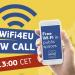 El programa WiFi4EU abrirá su cuarta convocatoria con un presupuesto de 14,2 millones