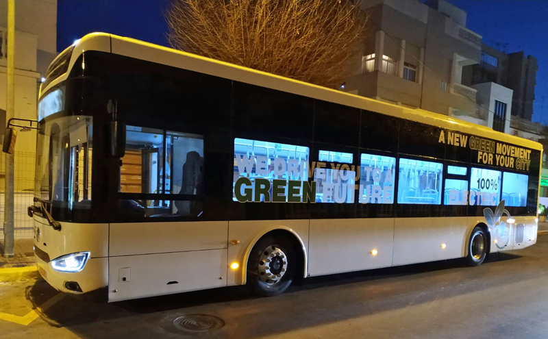 autobús sostenible Rota