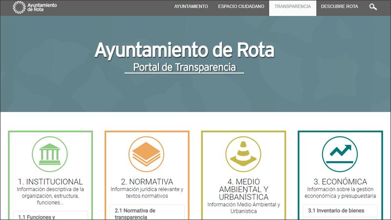 portal transparencia Rota