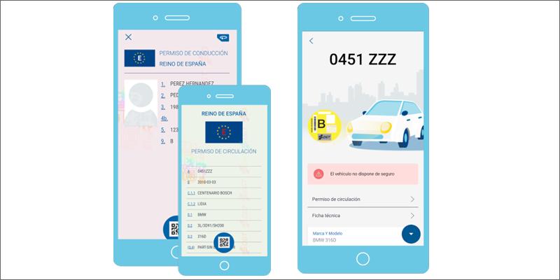 El nuevo carnet de conducir digital de la DGT permite realizar trámites de forma telemática • ESMARTCITY