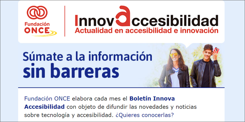 Boletín Innova Accesibilidad