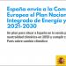 El Gobierno remite a la Comisión Europea el Plan Nacional Integrado de Energía y Clima 2021-2030