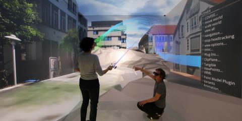 El gemelo digital de la ciudad alemana de Herrenberg contribuye a la planificación urbana sostenible