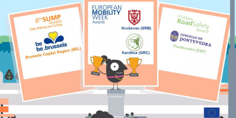 Pontevedra, ganadora de uno de los premios de la Semana Europea de la Movilidad 2019