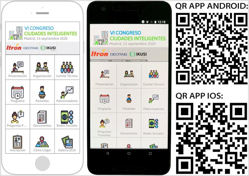 La App del VI Congreso Ciudades inteligentes ya está disponible
