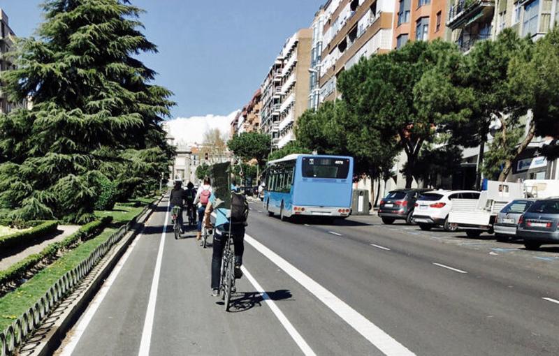 Despliegue de bicicletas eléctricas en Madrid