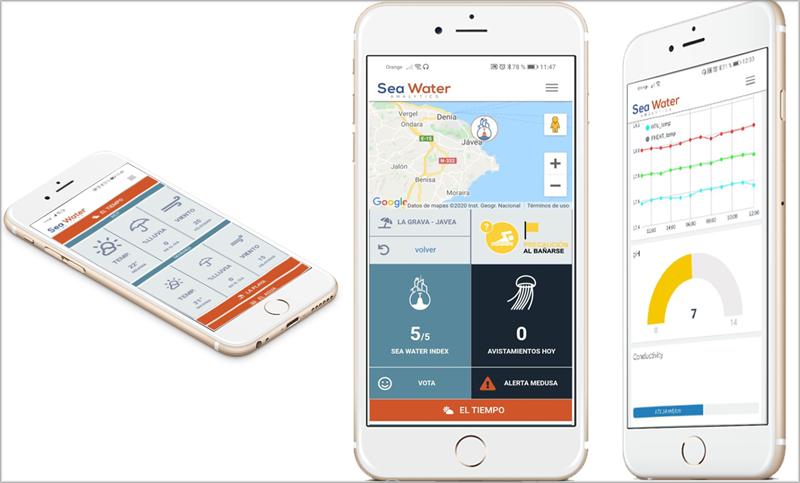app para conocer la ocupación de las playas en tiempo real