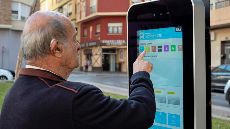 marquesina inteligente e interactiva en Onda, Castellón