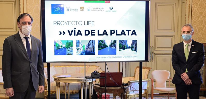Proyecto LIFE Vía de la Plata de Salamanca