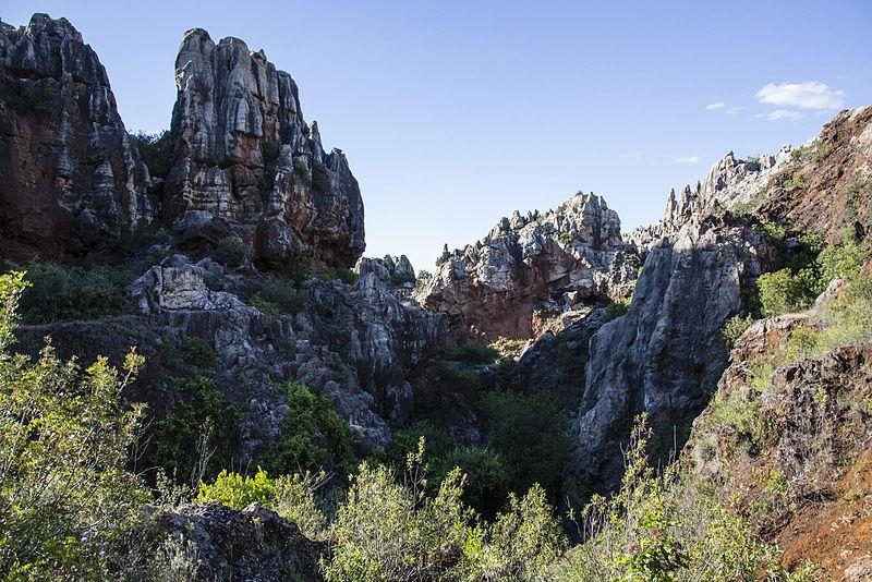 Parque Natural Sierra Norte de Sevilla.