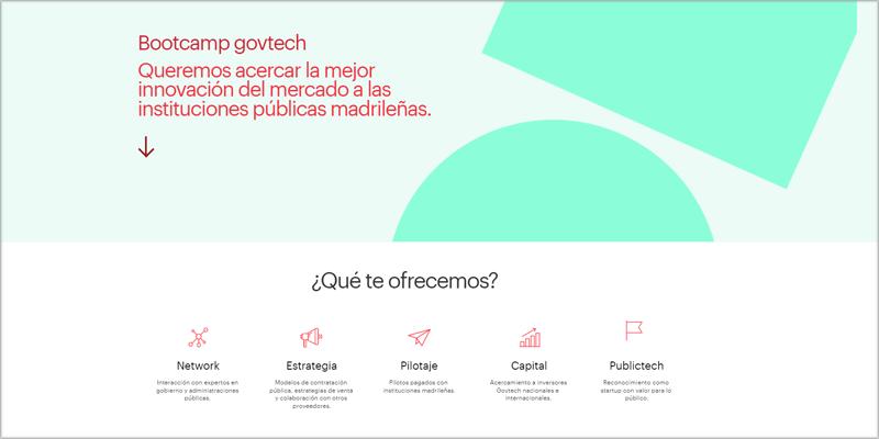 bootcamp govtech España