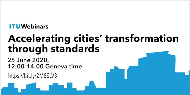 La UNE participa en el webinar 'Acelerando la transformación de las ciudades mediante normas'