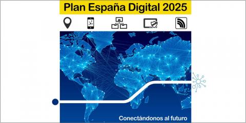 La agenda 'España Digital 2025' movilizará una inversión público-privada de 70.000 millones de euros en el periodo 2020-2022