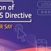 Consulta pública sobre la Directiva NIS de seguridad de redes y sistemas de información