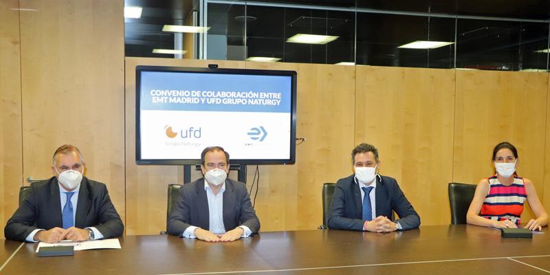 Acuerdo para desarrollar la electrificación de la Empresa Municipal de Transportes de Madrid