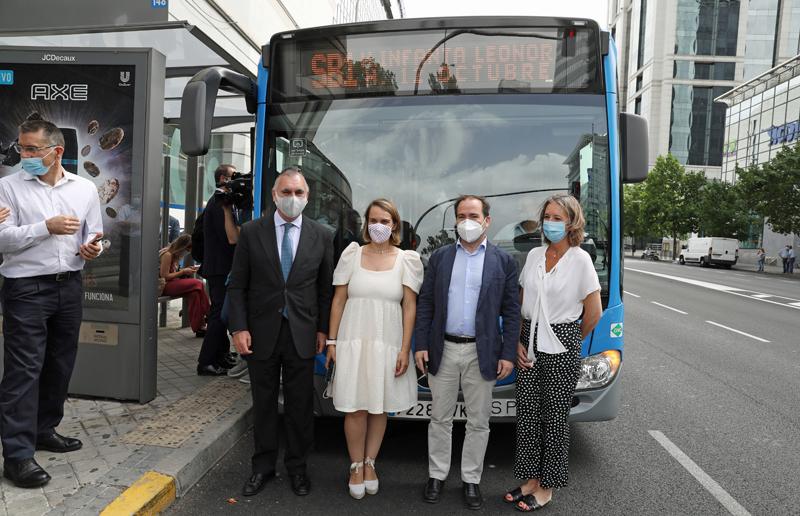 autobús a demanda de la EMT de Madrid