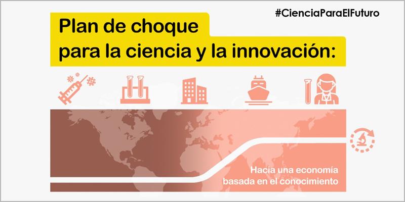 El plan de impulso a la ciencia y la innovación cuenta con un presupuesto de 1.056 millones de euros