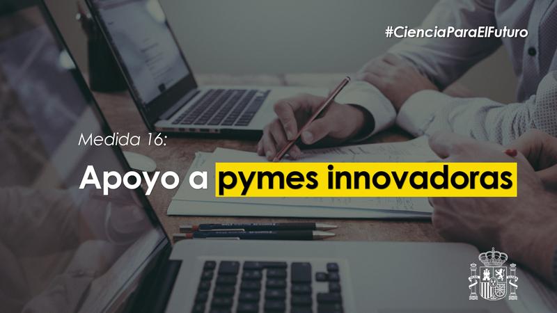 El plan de impulso a la ciencia y la innovación cuenta con una línea de ayudas a pymes innovadoras