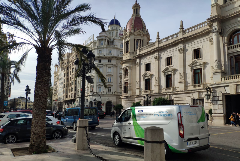 Proyecto piloto de Ford Mobility en Valencia para el desarrollo de la movilidad comercial, conectada y electrificada