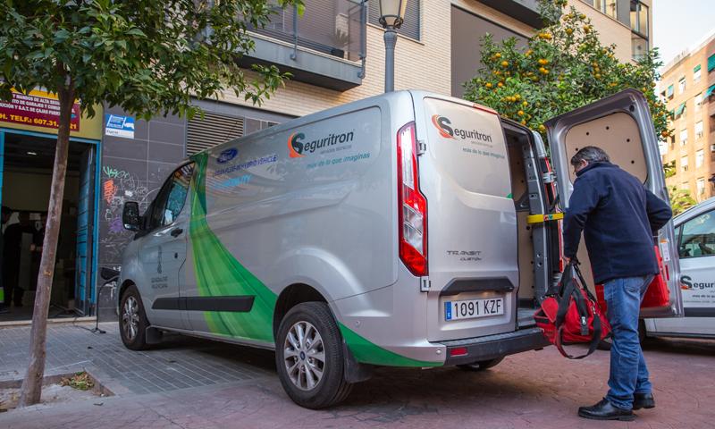 vehículo conectado de Ford Mobility en el proyecto piloto de Valencia