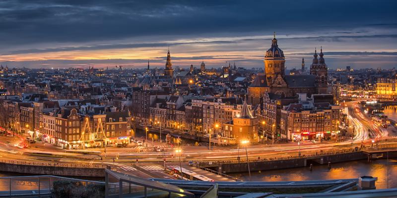 Setga, adjudicataria del proyecto de renovación del alumbrado público de Ámsterdam