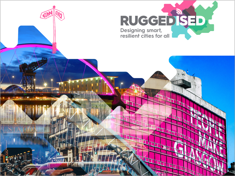Ciudad faro de Ruggedised: Glasgow