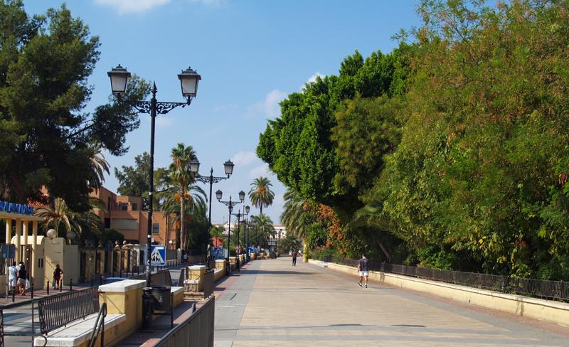 Jardín del Malecón, Murcia