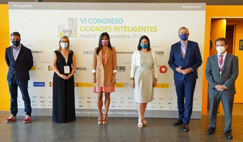 Begoña Villacís, vicealcaldesa de Madrid, en el VI Congreso Ciudades Inteligentes