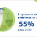 Reducir las emisiones un 55% para 2030, nueva propuesta de la Comisión Europea
