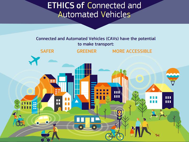 20 recomendaciones sobre ética en movilidad autónoma y conectada