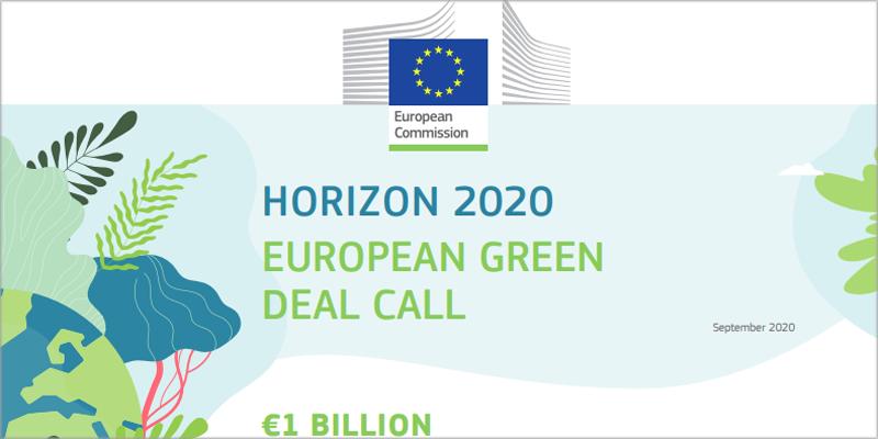 Convocatoria europea para impulsar la transición ecológica y digital dotada de 1.000 millones