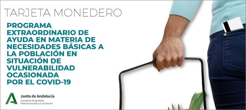 tarjetas monedero Andalucía