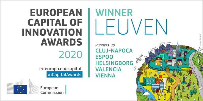 Lovaina, Capital Europea de la Innovación 2020