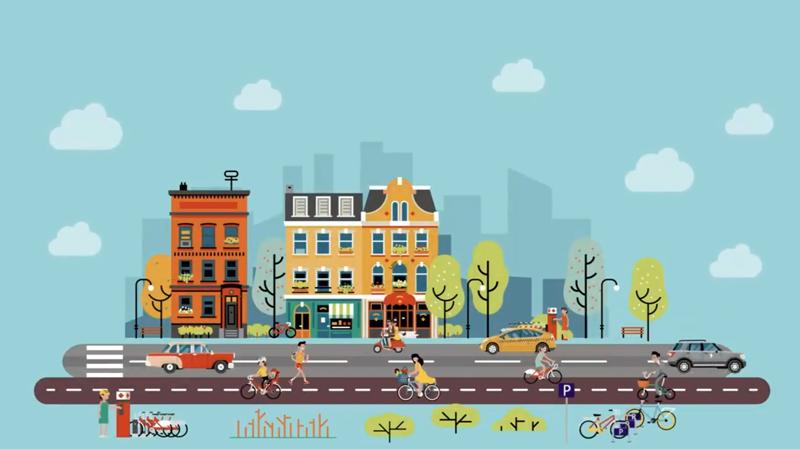movilidad urbana integrada