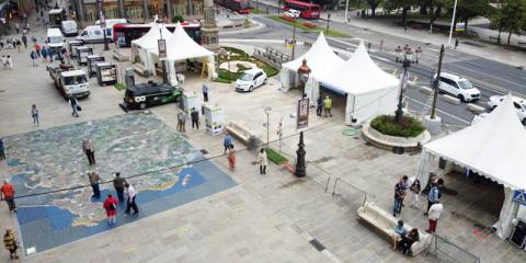 El nuevo límite de velocidad en A Coruña permitirá reducir el nivel de iluminación un 30%