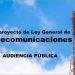 Presentado a audiencia pública el Anteproyecto de Ley General de Telecomunicaciones