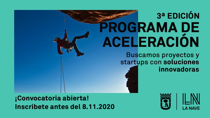 programa de aceleración de start-ups innovadoras de la Nave de Madrid
