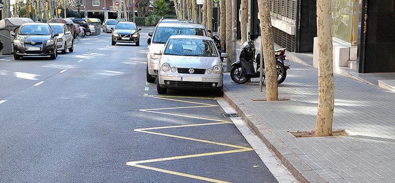 solución de parking inteligente para zonas de carga y descarga