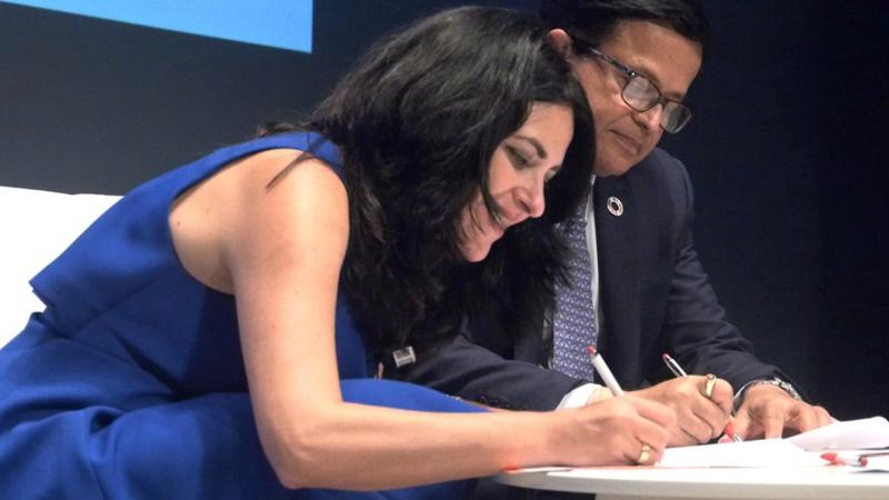 Firma acuerdo Cibervoluntarios y Naciones Unidas.