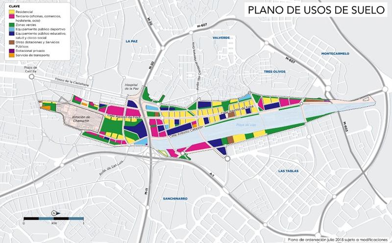 Plano Madrid Nuevo Norte www:madridnuevonorte.es.