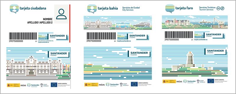 Figura 3. Identidad gráfica de las tarjetas de la iniciativa.