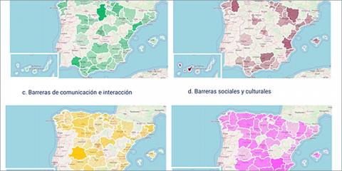 Análisis mediante Inteligencia Artificial Ética de la accesibilidad de personas con discapacidad en las ciudades españolas