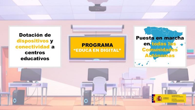 Programa 'Educa en digital'