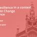 Encuentro online sobre resiliencia urbana para combatir el cambio climático