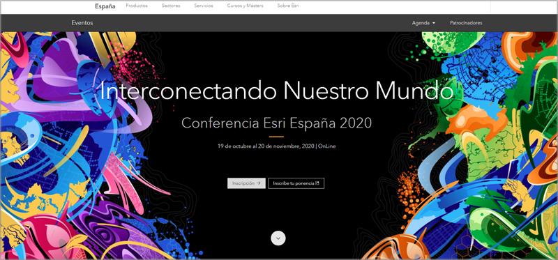 Conferencia Esri España 2020.