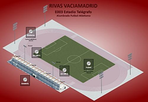 Figura 4. Control horario de alumbrado de instalaciones deportivas.