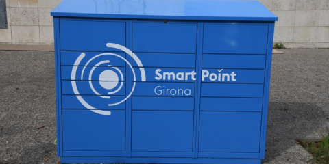 Girona acoge un plan piloto de paquetería inteligente y de cero emisiones