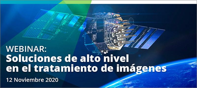 webinar 'Soluciones de alto nivel en el tratamiento de imágenes' de Hexagon