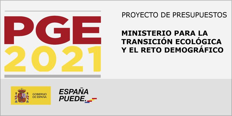 El Miteco aumenta su presupuesto para transición energética, medio ambiente y reto demográfico