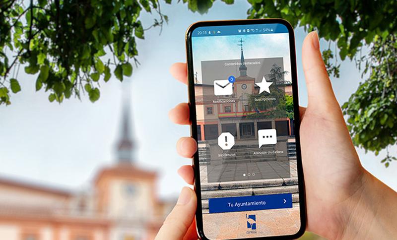 app de atención ciudadana de Las Rozas, Madrid